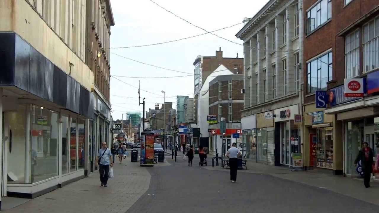 Town Centre Great Yarmouth Youtube