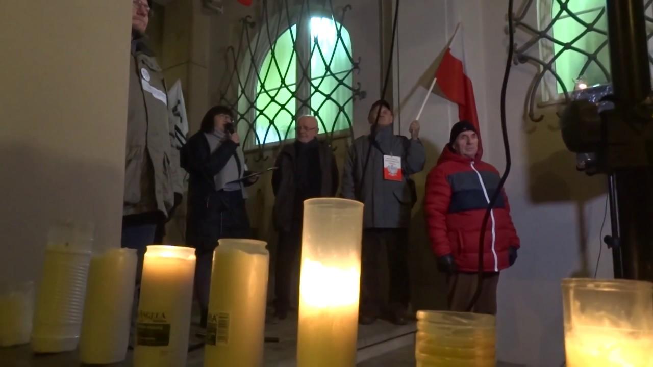 Pikieta KOD pod Sądem Okręgowym 06.12.2017