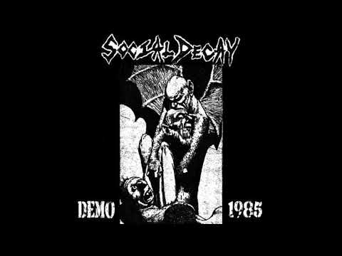 Social Decay - Senseless Talk - 1985 Demo