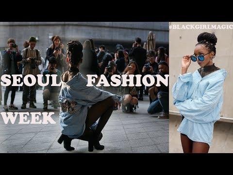 [BLACK MODEL IN KOREA]흑인모델 ▫ Seoul Fashion Week