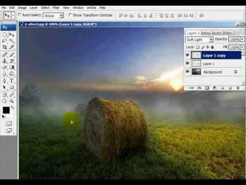 Adding Fog to a Photo - Photoshop Tutorial