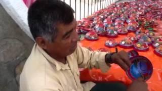 Jicaras de guerrero en San Pablo Huixtepec Oaxaca