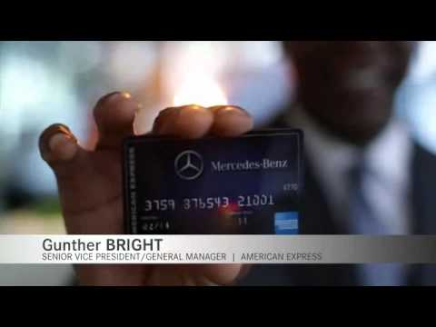The Mercedes-Benz Credit Card From American Express