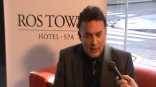 Nota al Dr. Luis Sassani en Hotel 5 estrellas ROS TOWER de Rosario Premio Planeta 2012