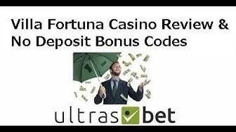Villa Fortuna Casino Review & No Deposit Bonus Codes 2019