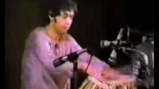 Zakir Hussain solo with Ajoy Chakraborty in harmonium