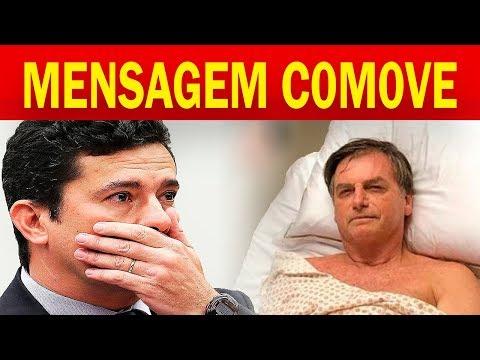 🔴 Sérgio Moro Visita Jair Bolsonaro e Mensagem C0M0VE a todos