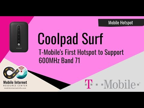 T-Mobile Introduces The Coolpad Surf – Their First Mobile Hotspot With Band  71 Support