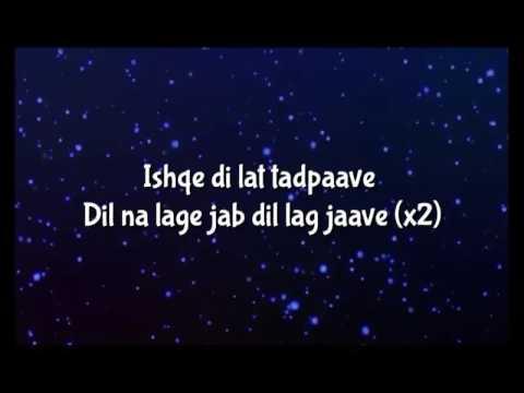 Ishqe Di Lat Tadpave Lyrics Video - Junooniyat Full Song
