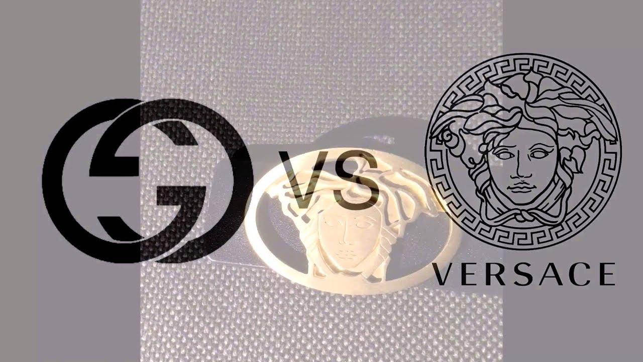 Gucci VS Versace