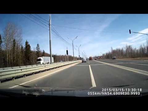 Трасса М1 Минское шоссе Пересечение границы Белоруссия - Россия