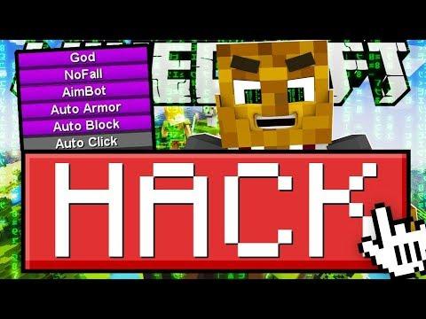 MINECRAFT HACKS! - HACKING IN MODDED BATTLEDOME