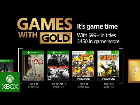 Бесплатные игры для Xbox в Марте 2017