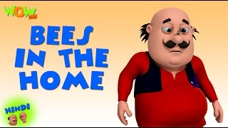Bees In The Home - Motu Patlu in Hindi WITH ENGLISH, SPANISH & FRENCH SUBTITLES