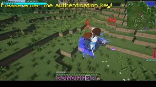 Minecraft May Cry Vergil vs Extremely hard demon boss