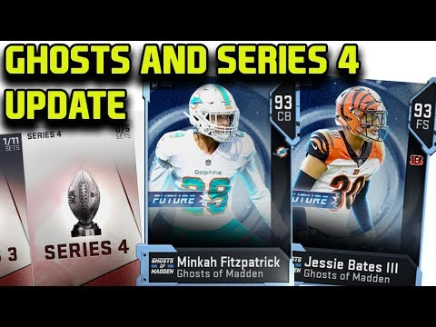 SERIES 4 ARRIVES WITH GHOSTS OF MADDEN FUTURE | MADDEN 19 ULTIMATE TEAM