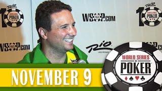 Bruno Foster fica em 8° no ME da WSOP 2014