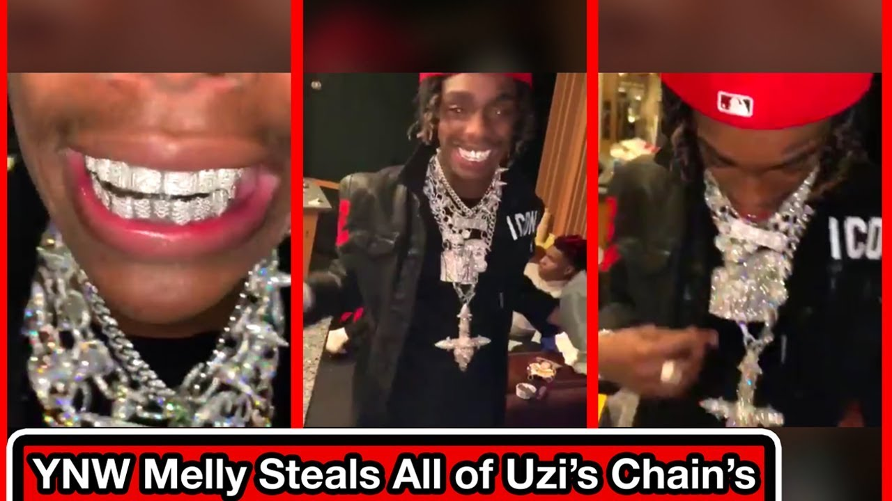 YNW Melly Wearing All of Lil Uzi Vert's Chains (Snippet, Leak, 2019, IG  Live, Unreleased)