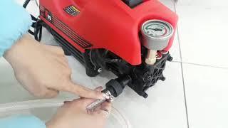 Máy rửa xe F09 1500W. Máy rửa xe ô tô, xe máy, máy vệ sinh áp lực cao