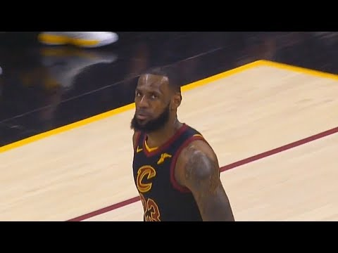 LeBron James Scores The First 16 Points For The Cavs in Game 2 (VIDEO)