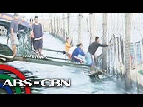 Bandila: Mga illegal fishpen sa Laguna Lake, giniba ng DENR