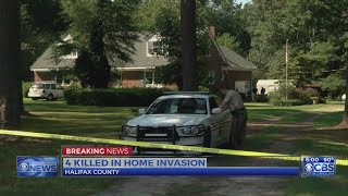 4 killed in Halifax County home invasion, sheriff confirms