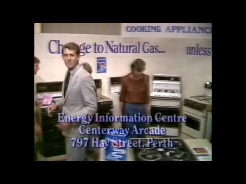 Natural Gas 'Unless you got money to burn' TV Ad Australian 1980's HD