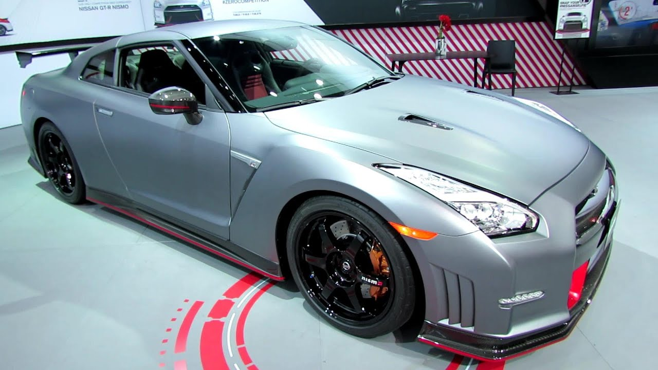 2015 Nissan GT R Nismo   Exterior And Interior Walkaround   2014 Detroit  Auto Show   YouTube