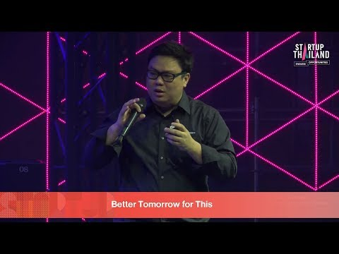 Fire Side Stage Max Kortrakul,CEO StockRadars  | STARTUP Thailand 2018 Day1