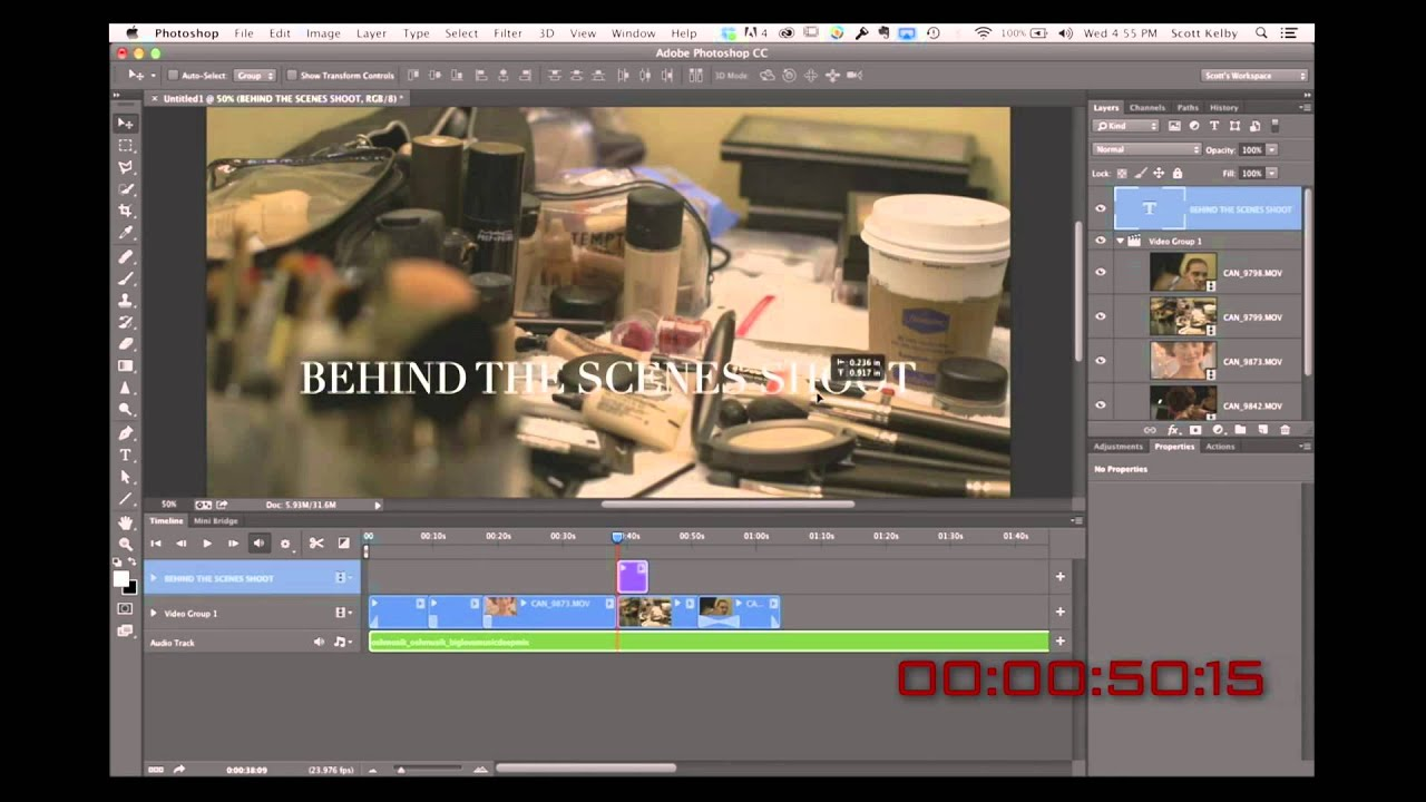 7 Steps For Photographers On Editing Video In Adobe Photoshop Cc