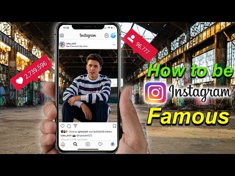 How To Be Instagram Famous *In 24hrs*