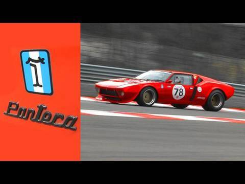 DeTomaso Pantera in Spa-Francorchamps