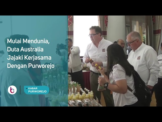 Mulai Mendunia, Duta Australia Jajaki Kerjasama Dengan Purworejo