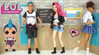 Barbie LOL Surprise Punk Boi Teenager Doll - Custom DIY Ken Transformation