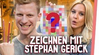 MALSTUNDE mit Stephan Gerick| Kelly & Sturmwaffel lernen Zeichnen in 120 Sekunden! | GMI