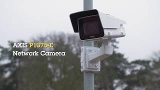 AXIS P1375-E vidéo