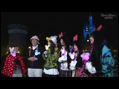 Let's Enjoy! Tokyo Disney Resort w/ Ve & Michelle JKT48 @ Wakuwaku Japan [15.03.29]