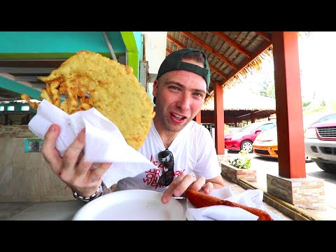 TROPICAL Puerto Rican STREET FOOD TOUR | Piñones, Puerto Rico