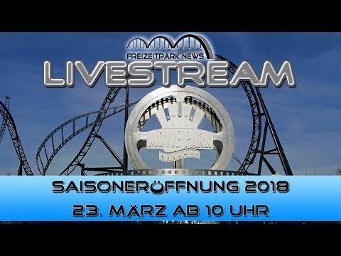 Movie Park Germany Eröffnung Sommersaison 2018 Live