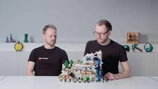 The Mountain Cave - LEGO Minecraft - 21137 - LEGO Designer Video