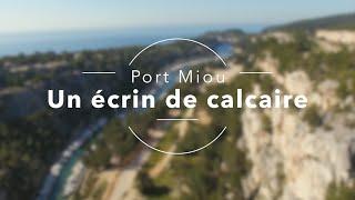 Port Miou, un écrin de calcaire