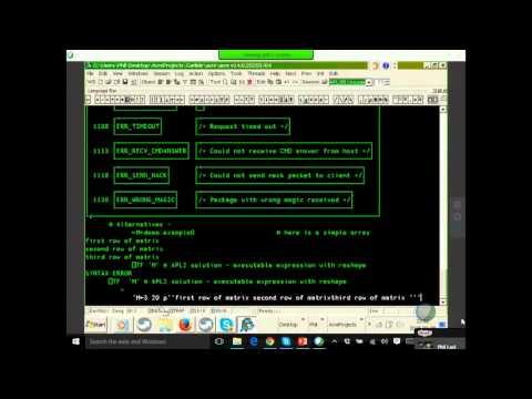 Dyalog15: APL Array Notation
