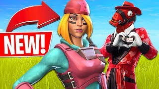 VALENTINE'S UPDATE! FREE Season 8 Battle Pass + NEW Skins!! (Fortnite Battle Royale Gameplay)