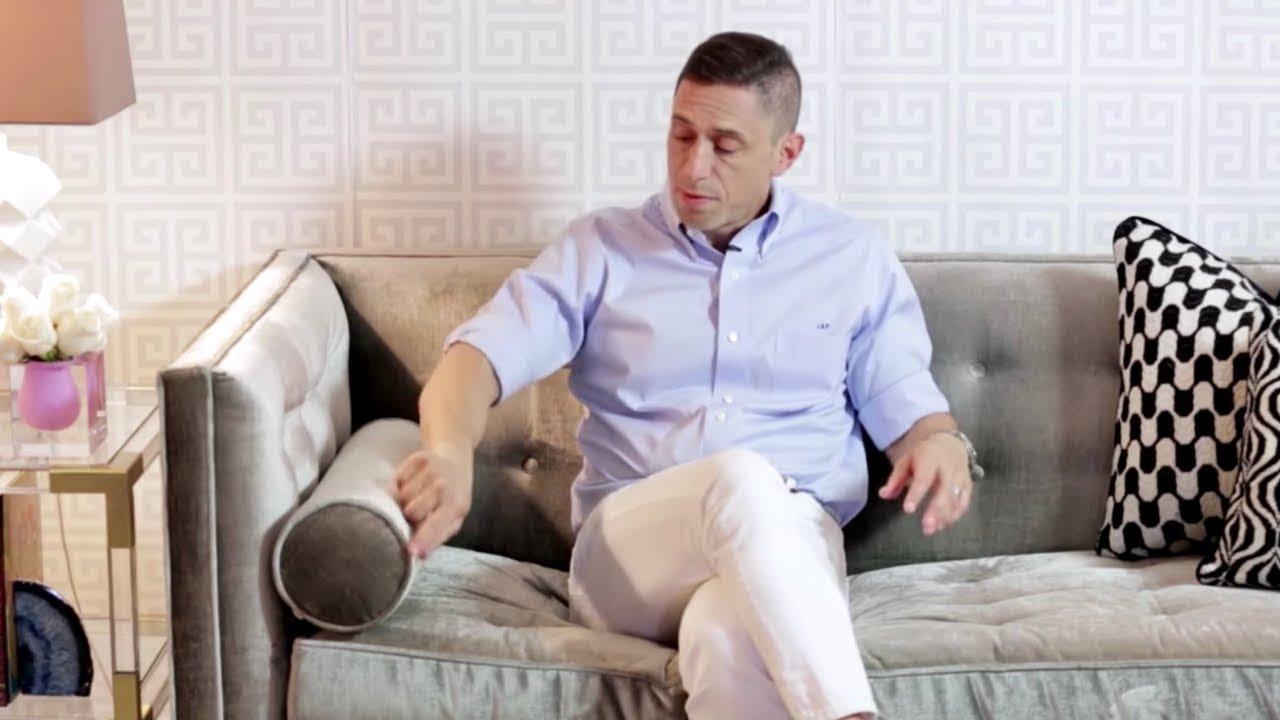 Lampert Sofa By Jonathan Adler | The Modern Living Room Sofa   YouTube