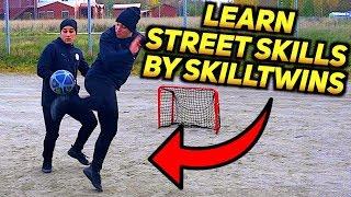 Learn STREET FOOTBALL SKILLS Tutorial: