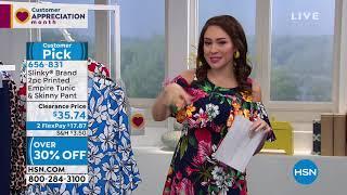 HSN | Slinky Brand Fashions 04.23.2019 - 04 AM