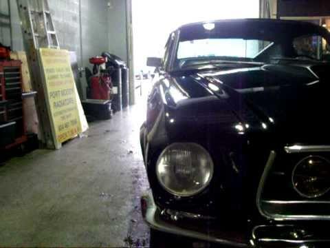 68 MUSTANG  FASTBACK-10 sec car-Port Moody Auto Repair