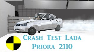 Crash Test Lada Priora 2170 - BeamNG.Drive
