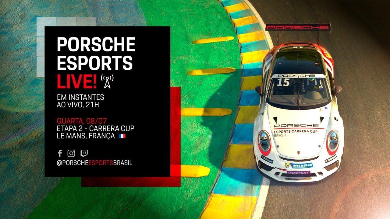Porsche Esports Carrera Cup - Etapa #2 Le Mans