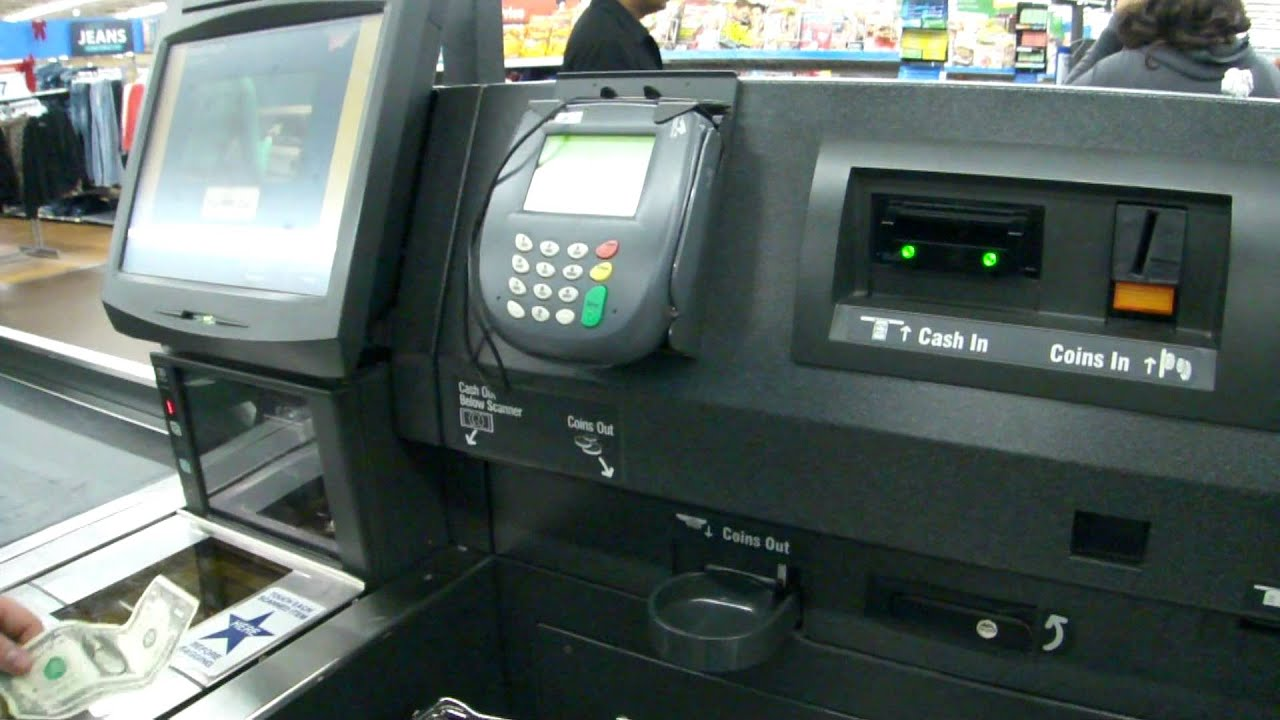 NCR Self Checkout with Bring-To Belt at Walmart - Commack, NY ...